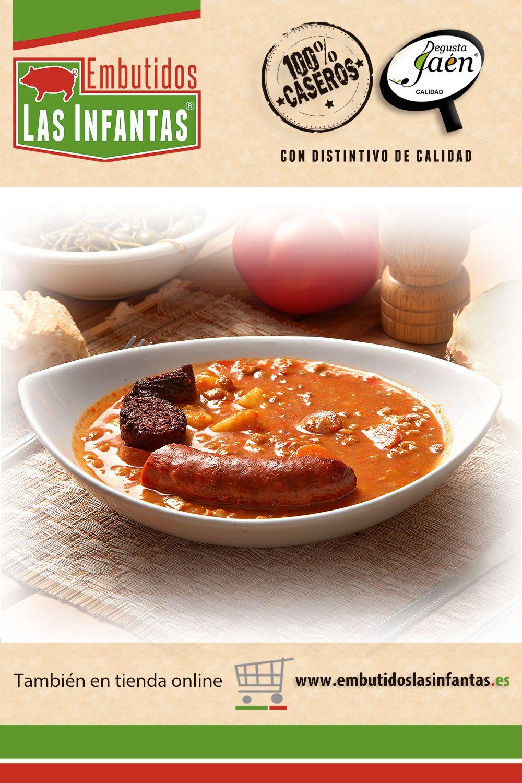 Potaje De Habichuelas Rojas Con Chorizo Y Morcilla Casero Recetas De Comida Casero Embutidos