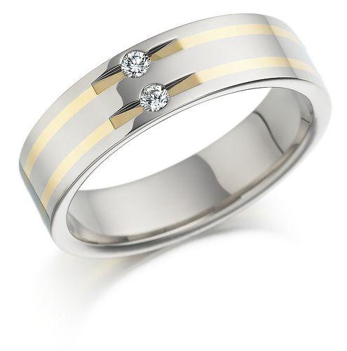 Bien white diamond platinum wedding ring Jewellery Pinterest
