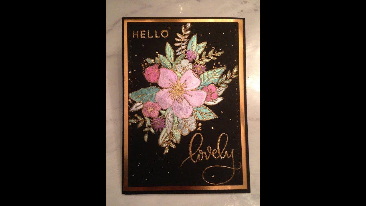 pinkaren barkman on colouringpainting  flower cards