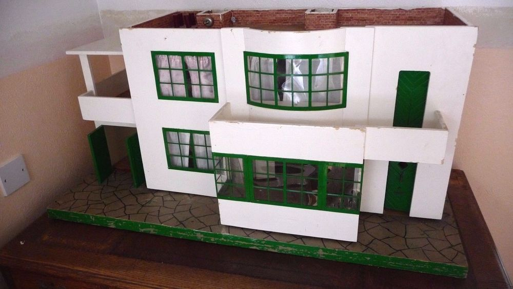 1930 S Doll House Ebay Doll House Art Deco Design Dollhouse Miniatures