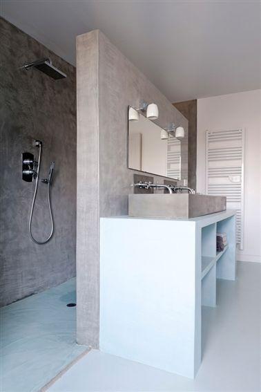 Pour la salle de bains idees deco Pinterest Salle de bains
