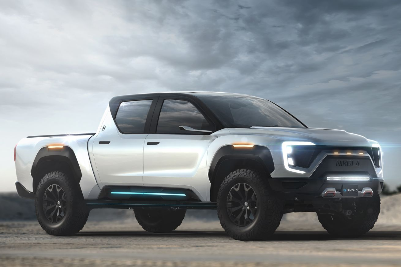 Nikola Teases An Electric Pickup With 600 Miles Of Range In 2020