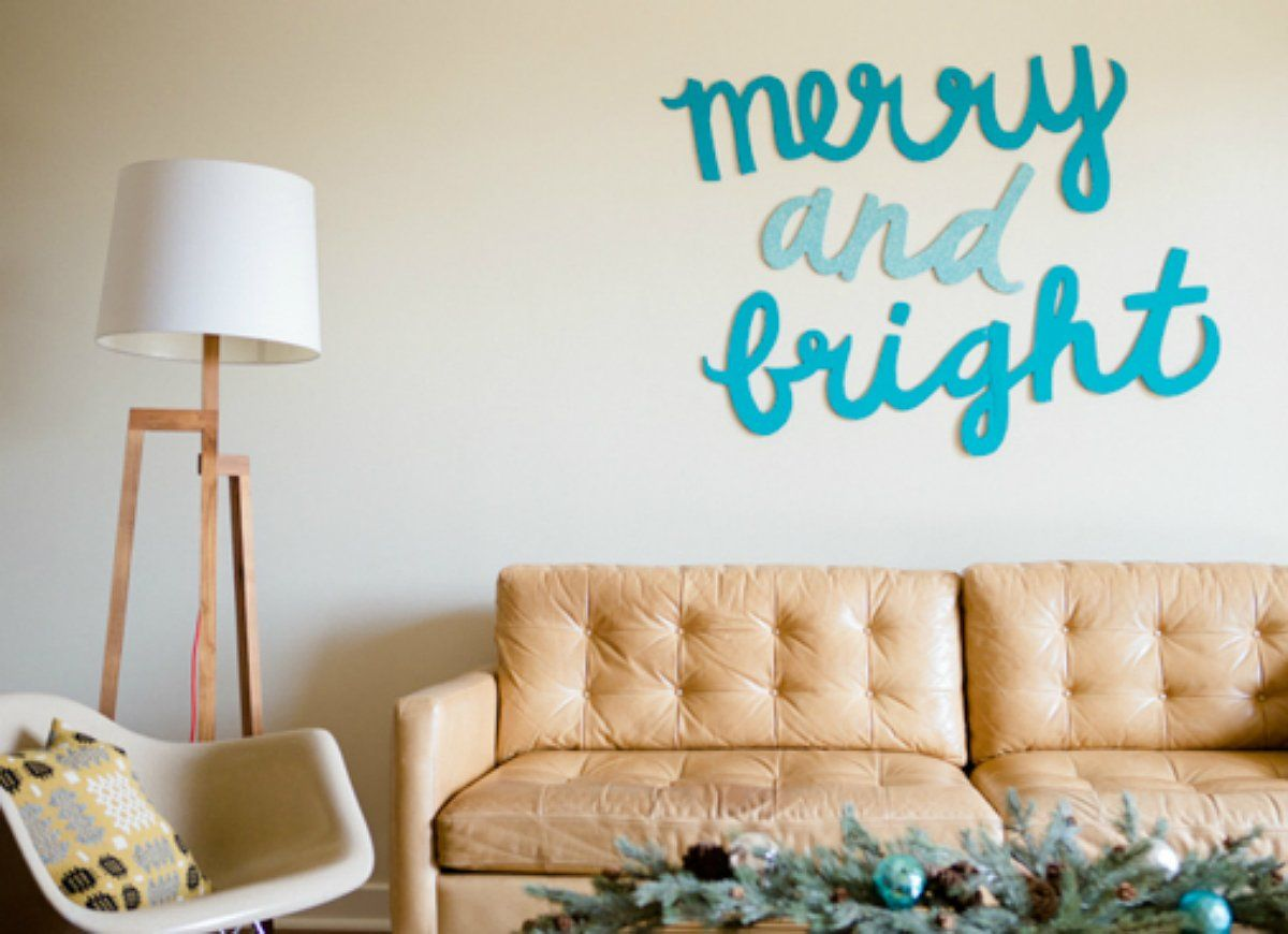 insanely easy ways to decorate for the holidays christmas wall