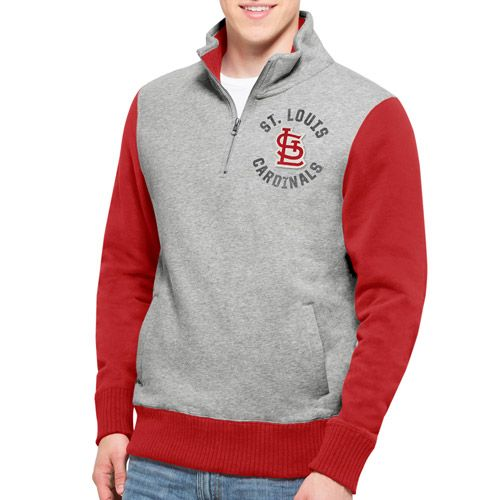 St. Louis Cardinals Coverage 1/4 Zip Pullover by '47 - MLB.com Shop
