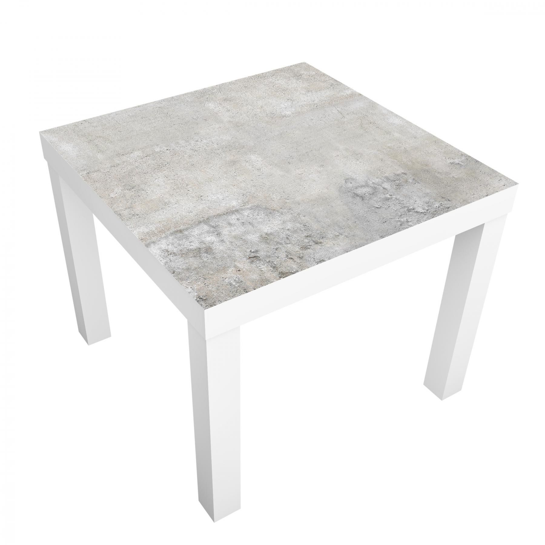 beistelltisch - shabby betonoptik - tisch grau 1
