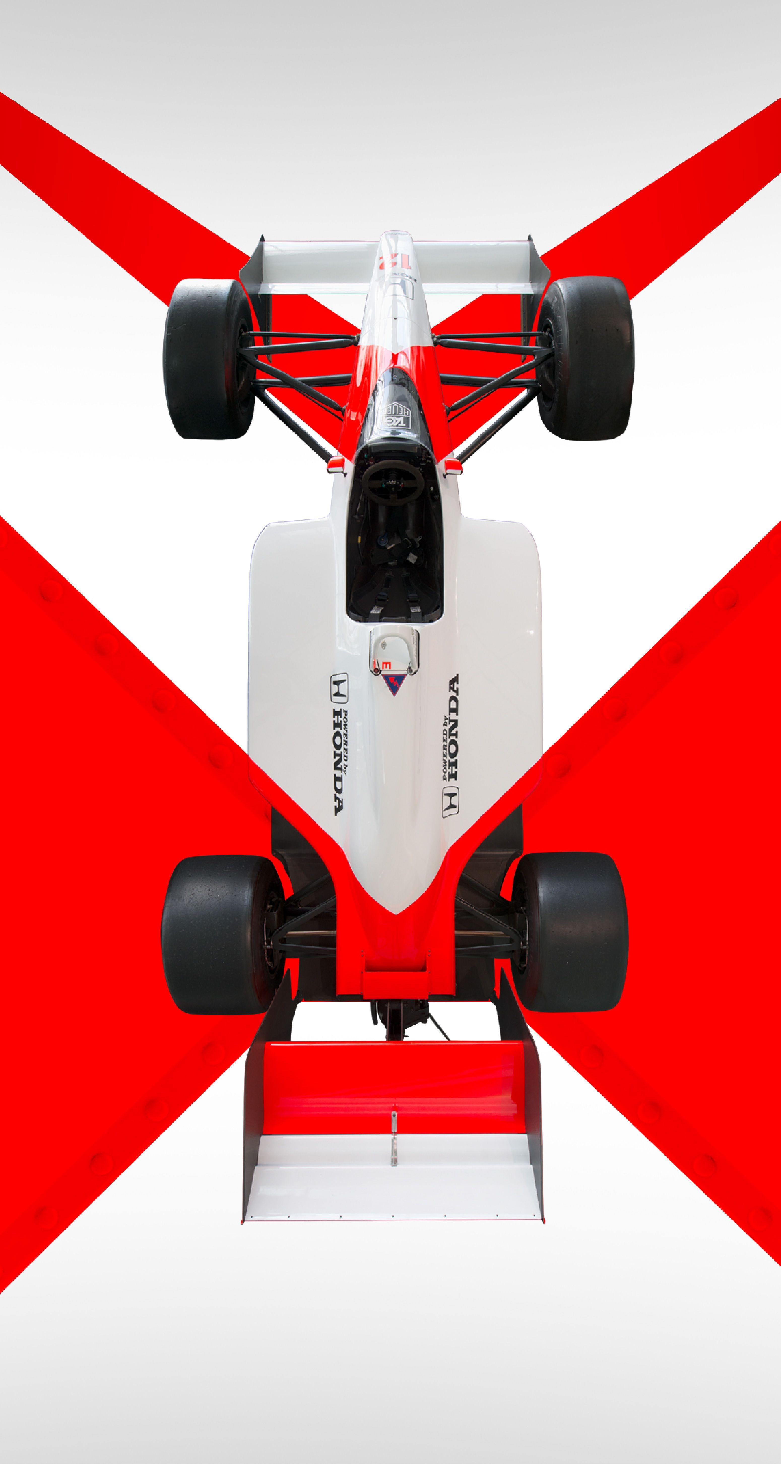 Mp4 4 Rocket Red White Ayrton Senna Automobilismo Ayrton