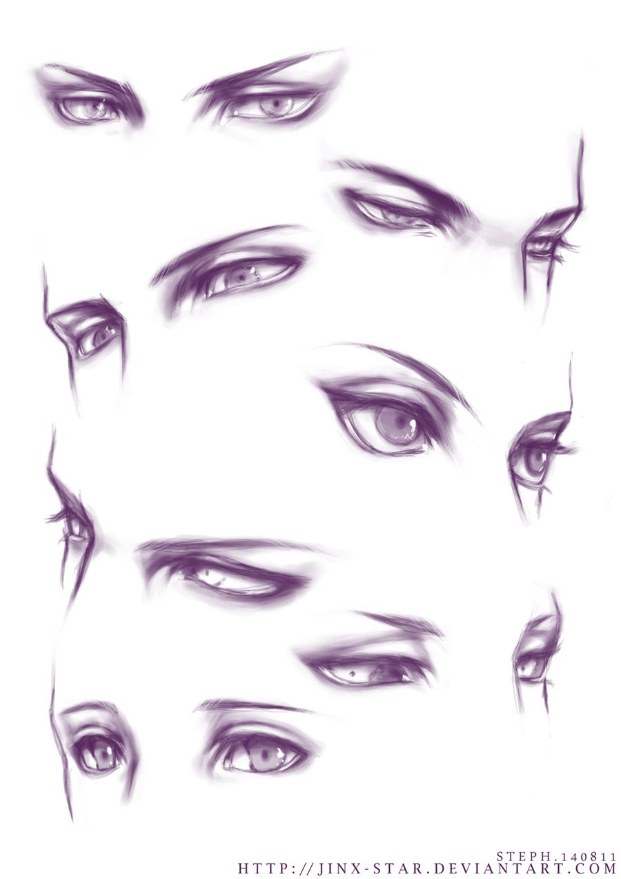 +EYE PRACTICE+ by jinx-star.deviantart.com on @DeviantArt