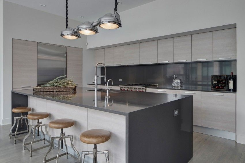 River North Penthouse by LG Interiors (4) | Cocina | Pinterest
