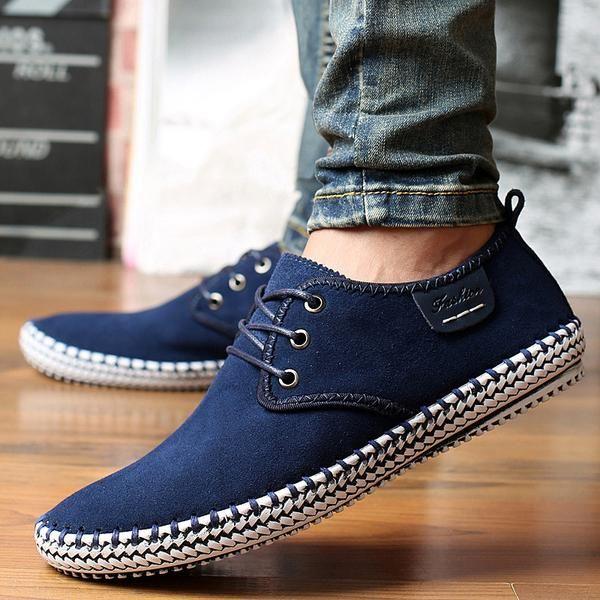 Minimalist Men Casual Shoes | Blue