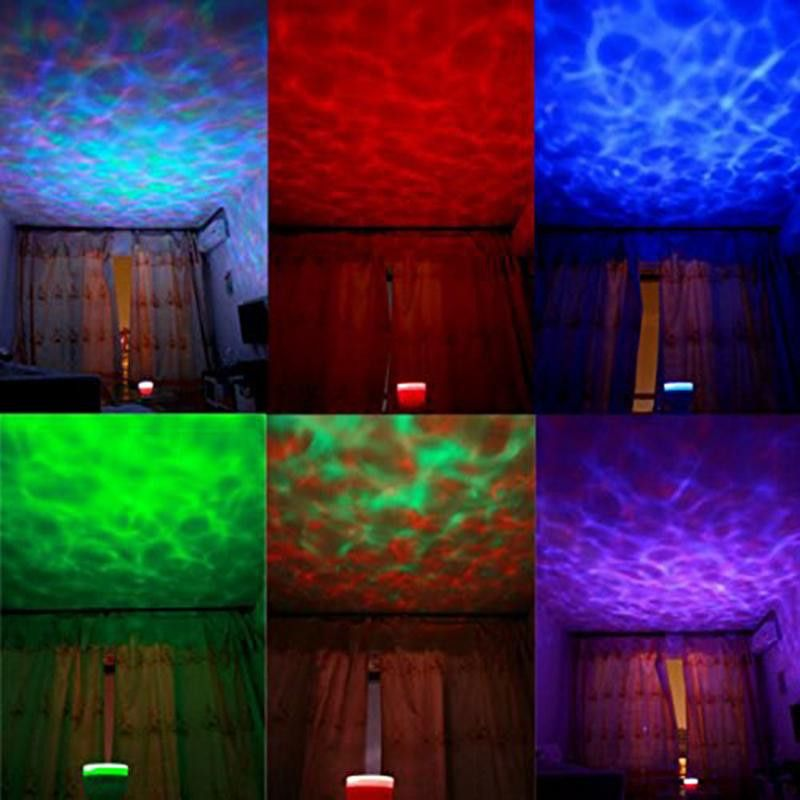 FUMAT Aurora Master Night Light LED Speaker Rainbow Wave Projector U0026  Speakers Lamp Daren Waves Led