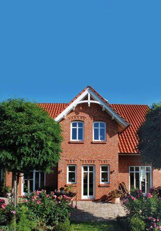 Friesenhaus mit Sylter Charme und Anbau von ECO System HAUS ...