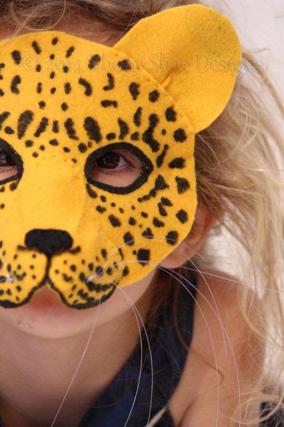 Leopard Mask PATTERN. Kids Leopard Costume Sewing Pattern & Leopard Mask PATTERN. Kids Leopard Costume Sewing Pattern | Masking ...
