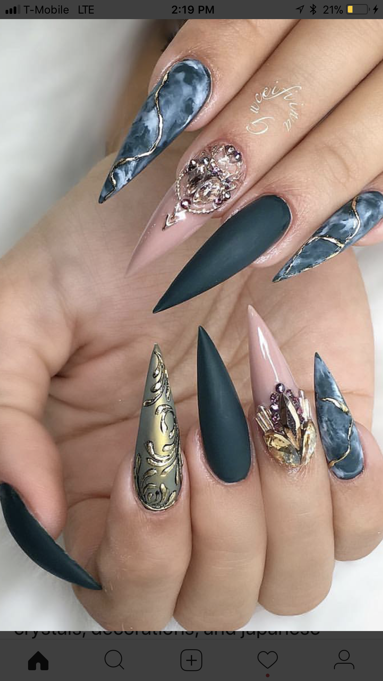 Fancy Nail Designs Acrylic Best Nail Designs 2018