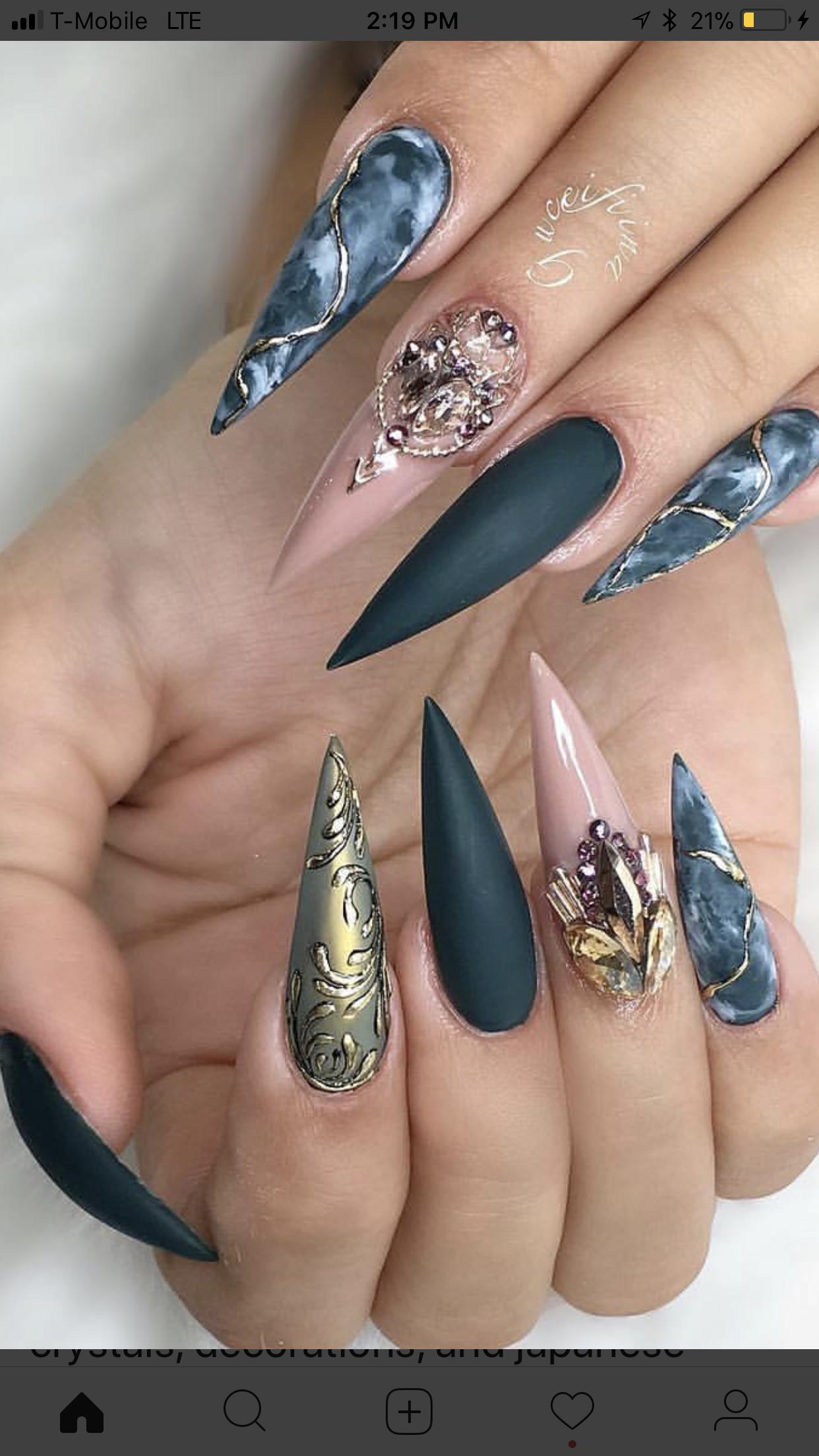 Pin by Luna Saez on Nail Art | Pinterest | Nail nail, Nails ...
