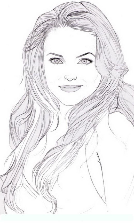 lindsay lohan famous people coloring pages