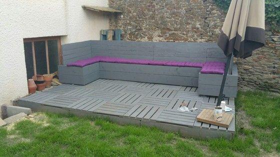 salon de jardin en palette Instructions de montage... | Bosch Les ...