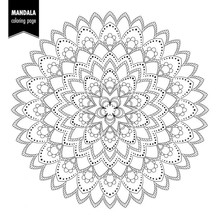 Mandalas Para Colorear Y Relajarte Mandalas Para Colorear