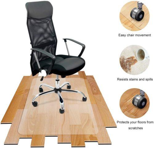 Best Chair Mat For Hardwood Floor In 2021 Review Chair Mats Hardwood Floors Chair