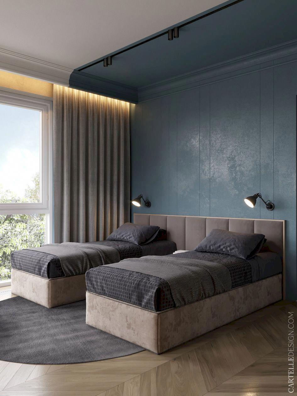 Excellent Grey Bedroom Walls Pictures Design Inspirations ...