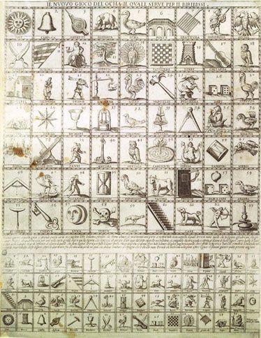 Biribissi (game) from Castello Sforza in Milan ca. 1500.
