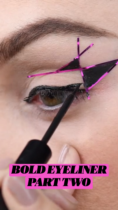 BOLD EYELINER PART TWO