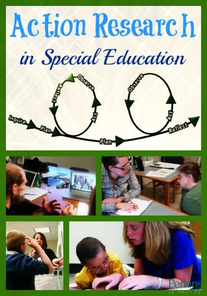 Action Research In Special Education Action Research Special Education Research In Education