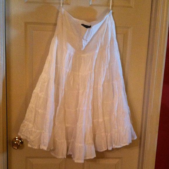 Skirt 100% cotton INC skirt size 10. 100% cotton. Side zipper Never Worn INC International Concepts Skirts