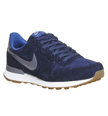 Nik Nik Internationalis Midnigh Nav Metalli Blu Dus Her trainers