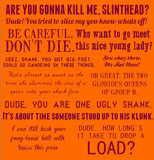 I love Minho quotes! The Maze Runner series, Go To www.likegossip.com to get more Gossip News!