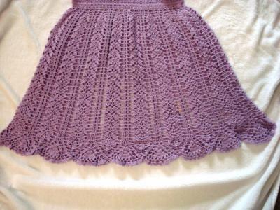 Faldas Tejidas a Crochet Paso a Paso | vestido para niñas! vestido! hilo de algodón tejido a crochet