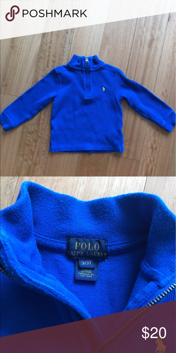 Polo 3T boys royal blue pullover. Ralph Lauren Polo Pullover ...