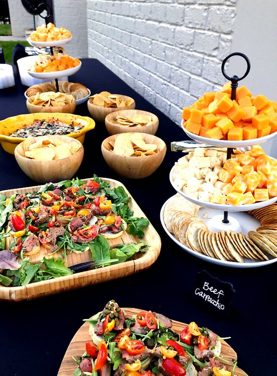 Dropoff weddings rock! We make the food, deliver it, and