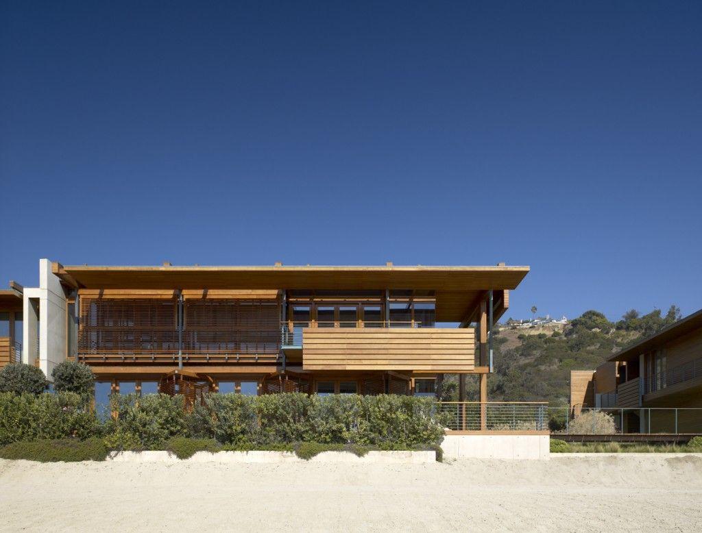 Pictures of houses on the beach - Malibu Beach House Richard Meier Partners Architects