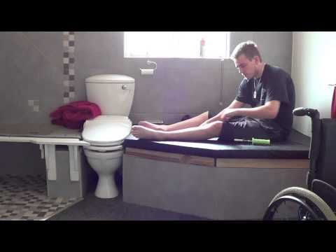 Quadriplegic Best Bathroom Setup Amp Bowel Routine Gt Gt Gt See