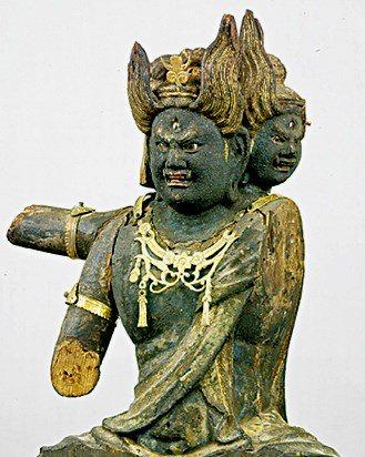「神奈川・称名寺光明院 大威徳明王像(重要文化財)」の画像検索結果