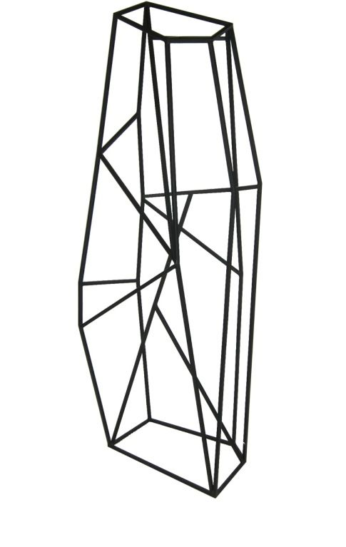 Large Abstract Geometric Sculpture In 2019
