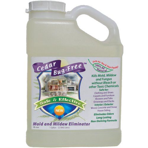 Mold And Mildew Remover Cedar Bug Free Mold And Mildew