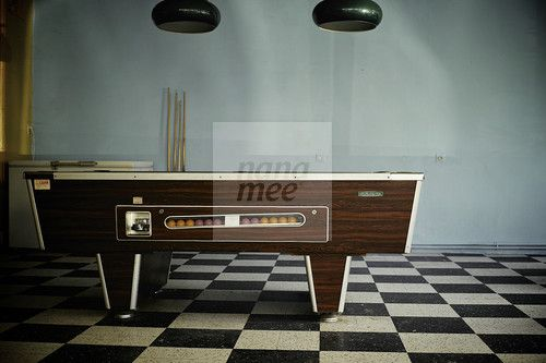 Retro Pool Table | Download this file at Nanamee, an exciting new stock art website by YouWorkForThem.