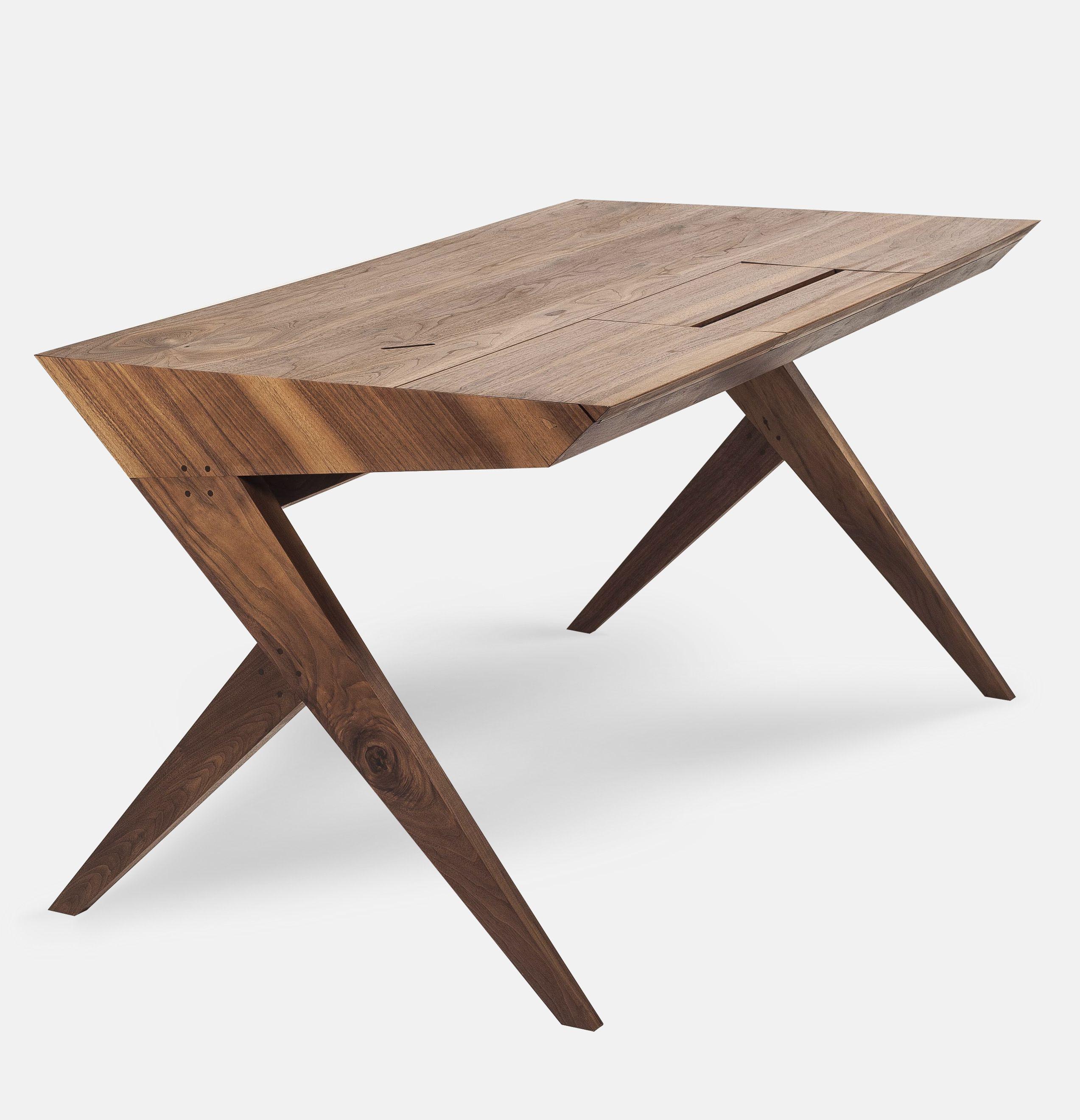 LOCUST DESK by AROUNDtheTREE  (Alexandre Caldas ) ORDER NOW #aroundthetreedesign #workingdesk #desks #design #interiors #interiordesign #locustworkingdesk