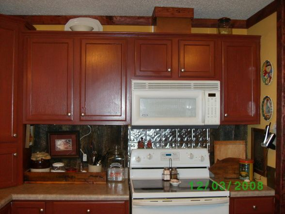 Country Mobili ~ Country style double wide kitchen redo kitchen paint and kitchens