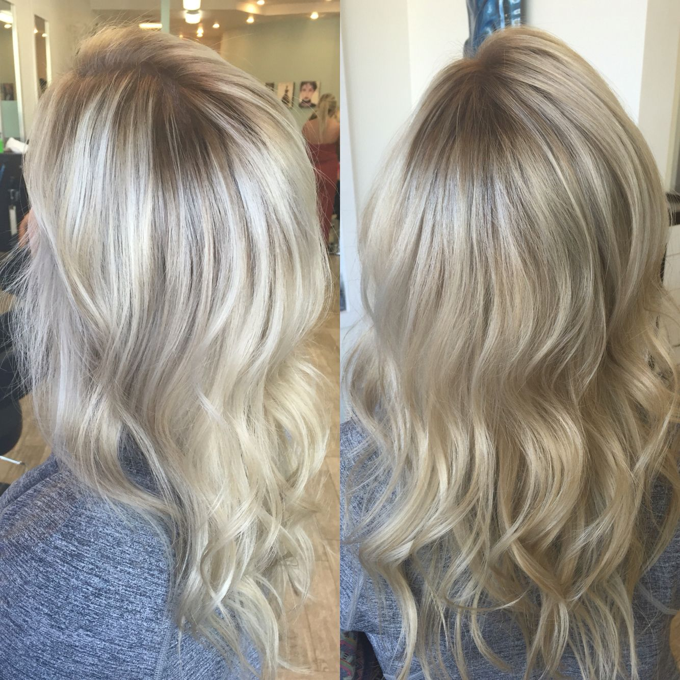 balayage shadow root blonde lana rowdyhair. Black Bedroom Furniture Sets. Home Design Ideas