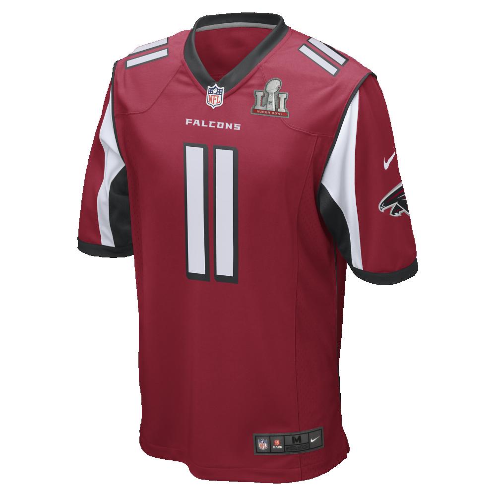 Nike Sbli Nfl Atlanta Falcons Game Julio Jones Big Kids Football Jersey Size Small Red Super Bowl 51 Clearance Sale With Images Atlanta Falcons Nike