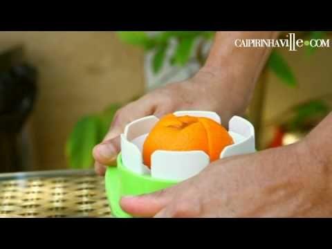 Fatiador de Frutas, perfeito para caipirinhas e outros drinks com fruta.