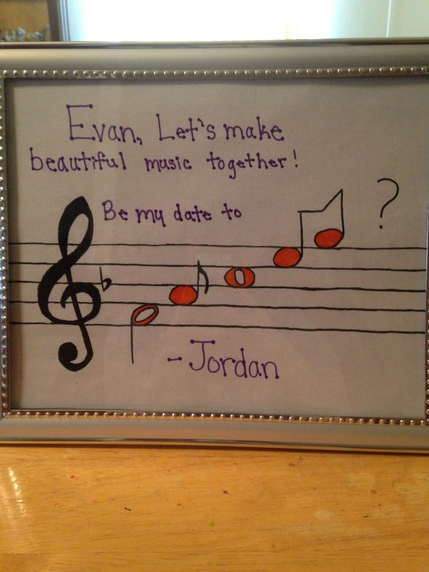 band geek promposal | made by me! in 2018 | pinterest | promposal