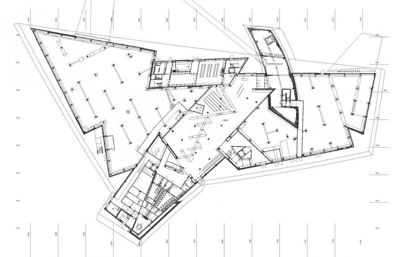 Imperial War Museum North Libeskind Ground Floor Plan C3a2c2a9