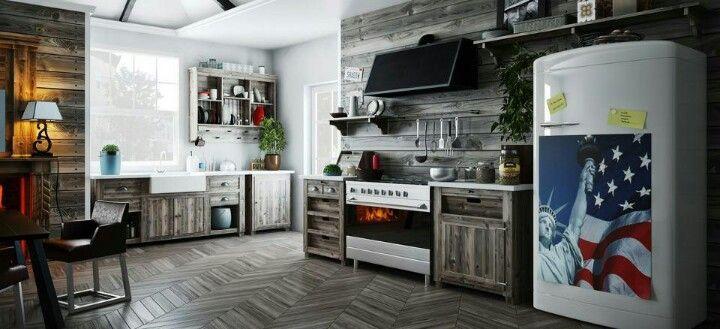 Cozinha mega bacana!