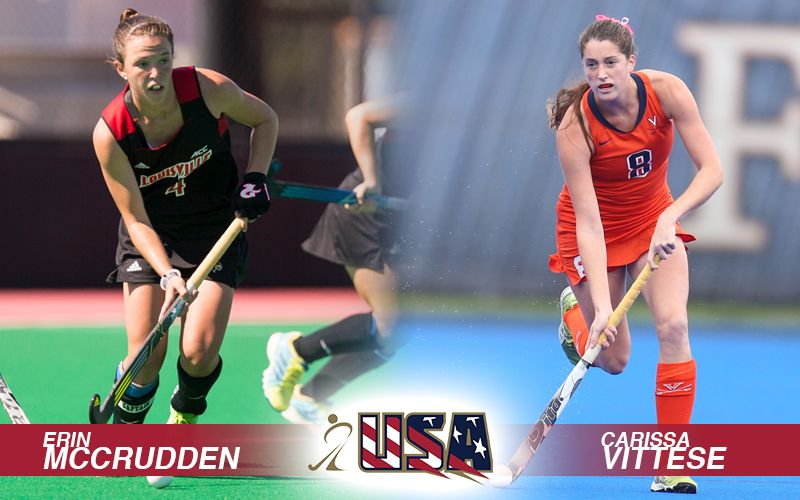 The U S Women S National Team Extends Its Roster By Two Names With The Welcoming Of Erin Mccrudden And Carissa Vittese The Athletes Squad Athlete Development