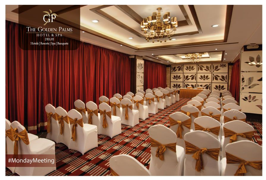 Meetings and monotony are synonymous with each other, but not at The Golden Palms Hotel & Spa, Delhi. Our conference rooms are made to infuse the right ambience into your business ventures.