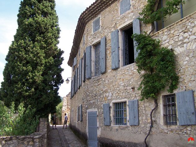 Mirmande, Loriol-sur-Drôme, Valence, Drôme, Rhône-Alpes, France