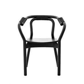 Normann - Knot stol svart/svart